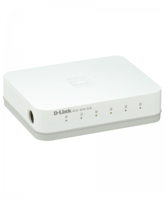 D-Link GO-SW-5G 5-p 10/100/1000 GB switch Desktop