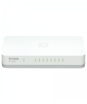 D-Link GO 8-poorts gigabit switch
