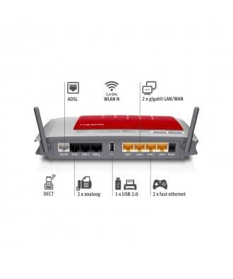 FRITZ!Box 7272 ADSL WiFi-N VoIP DECT PBX